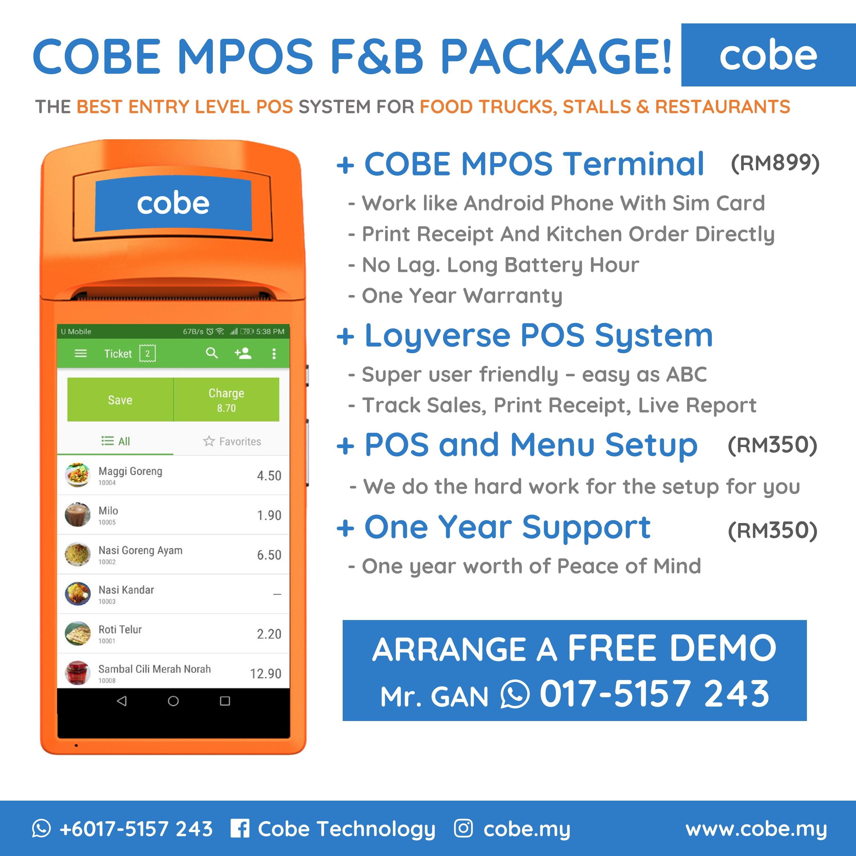 Home - Mobile POS Solution   Cobe